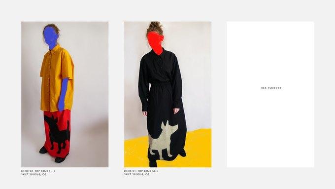 Лукбук Nina Donis, вдохновлённый полотнами Джона Балдессари. Изображение № 10.