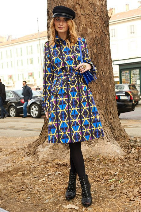 Стритстайл:  Неделя моды в Милане,  часть I. Изображение № 30.