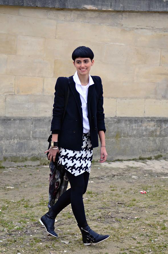 Неделя моды в Париже: Streetstyle. Изображение № 14.