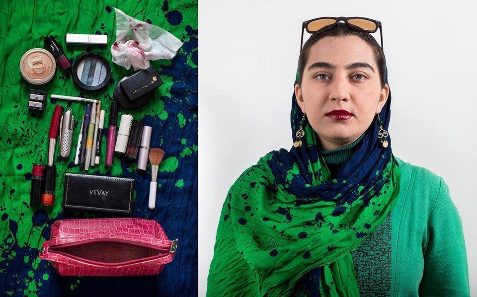 «Иранский макияж»:  Как и чем красятся  восточные женщины. Изображение № 7.
