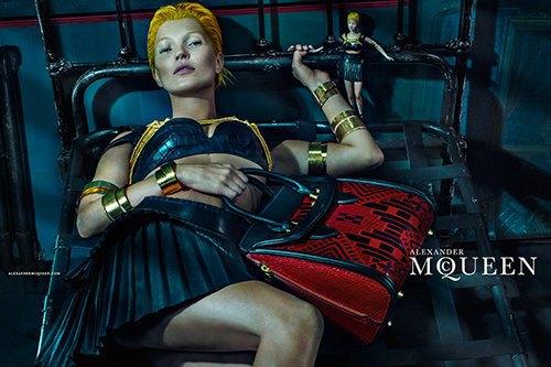Кейт Мосс стала новым лицом Alexander McQueen. Изображение № 6.