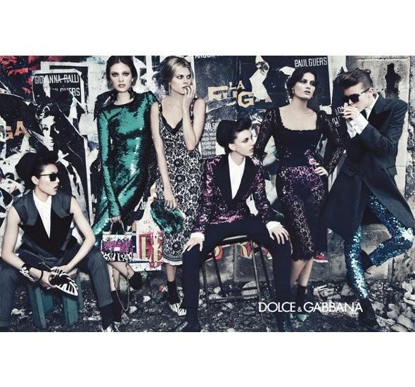 Dolce & Gabbana FW 2011. Изображение № 31.