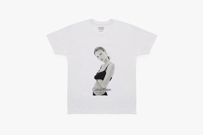 Opening Ceremony и Calvin Klein выпустили футболки  с Кейт Мосс. Изображение № 1.