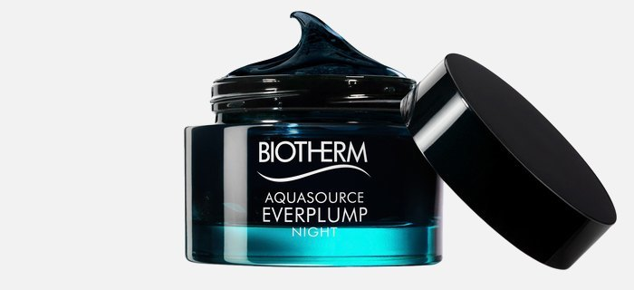 Чёрная ночная маска Biotherm Aquasource Everplump Night. Изображение № 1.