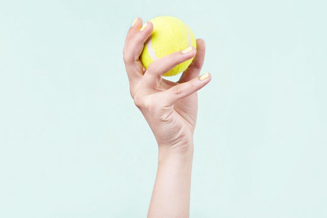 В первом выпуске — характерные дуговые узоры поверхности теннисного мяча.. Изображение № 1.