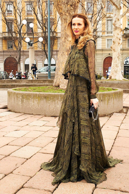 Стритстайл: Неделя моды в Милане,  часть III. Изображение № 6.