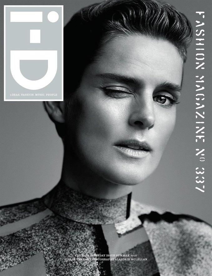 Журнал i-D отметил  35-летие восемнадцатью обложками с моделями. Изображение № 7.