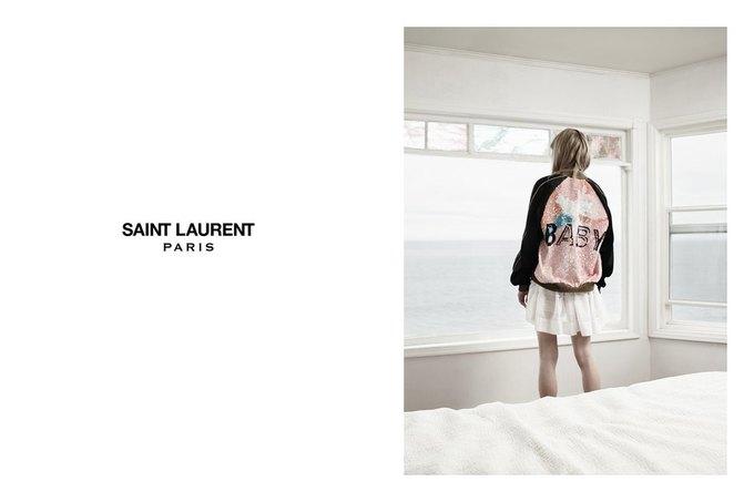 Звезда «Любви» Гаспара Ноэ и сын Килмера снялись в рекламе Saint Laurent. Изображение № 8.