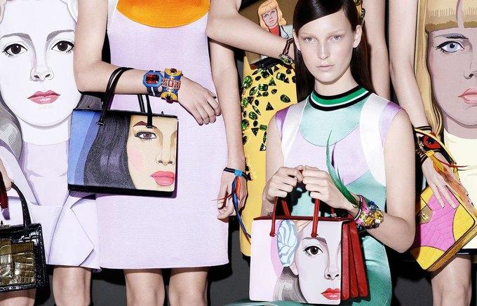 Для новой кампании Prada снялись 18 моделей. Изображение № 4.