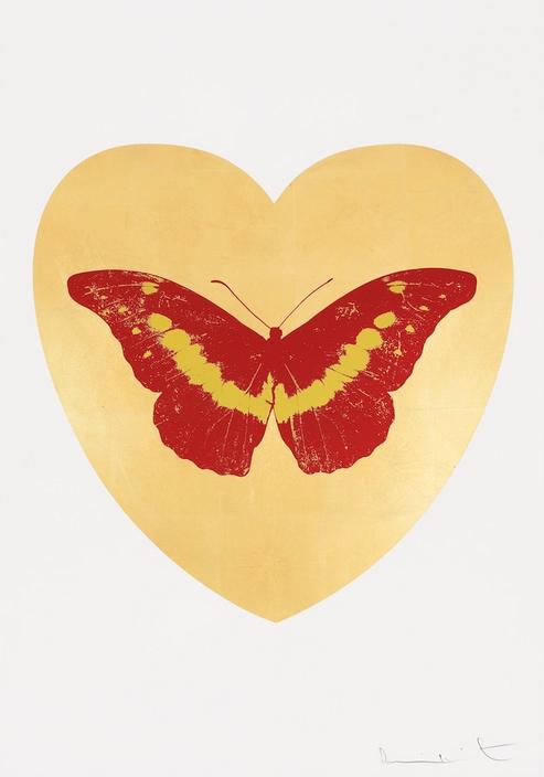 В Лондоне открылась выставка Дэмьена Херста, посвященная любви. Изображение № 3.