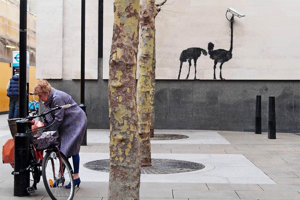 Выставка Бэнкси:  Есть ли для стрит-арта место в музее. Изображение № 3.