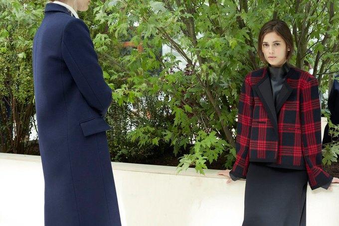 Объемные пальто и клетка в осеннем лукбуке Zara. Изображение № 13.