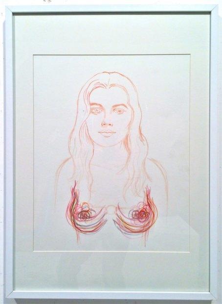 Пережившая мастэктомию художница посвятила выставку женской груди. Изображение № 12.