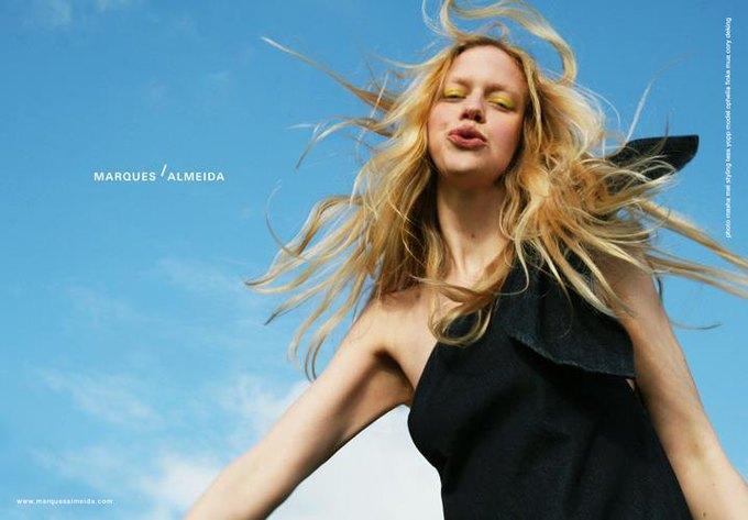 Рекламная кампания Marques'Almeida FW2014. Изображение № 1.