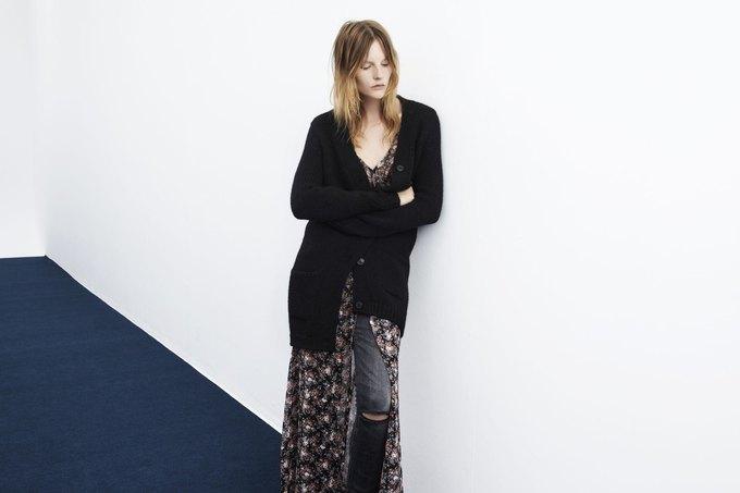 Леопардовые шубы и платья-сорочки в новой коллекции Zara. Изображение № 15.