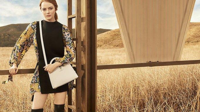 Louis Vuitton опубликовал первую кампанию с Эммой Стоун. Изображение № 1.