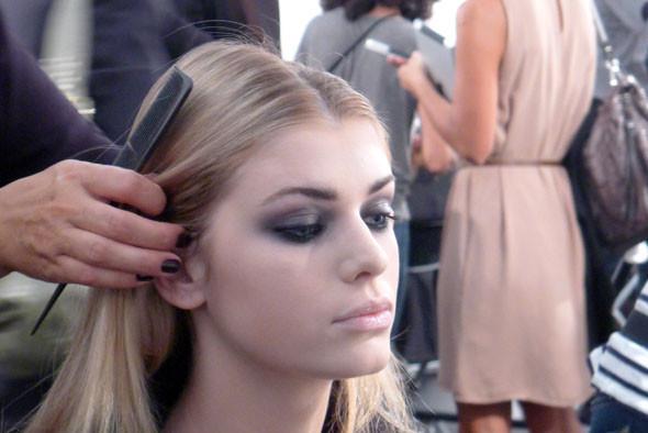 Milan Fashion Week: Репортаж с бэкстейджей Max Mara и Moschino. Изображение № 16.