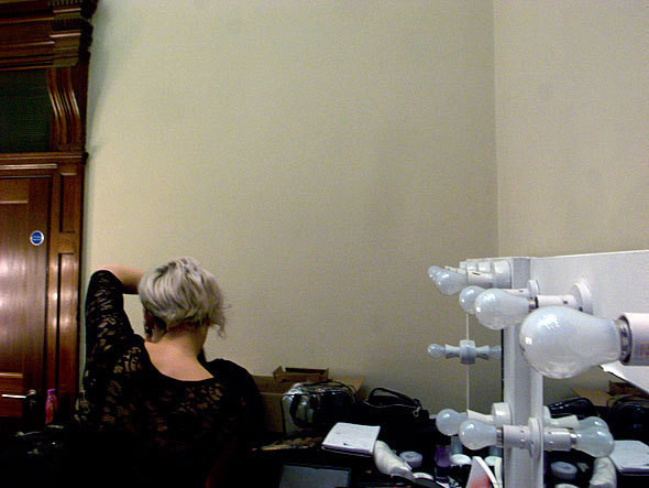 London Fashion Week: бэкстейдж показа Felder Felder. Изображение № 2.