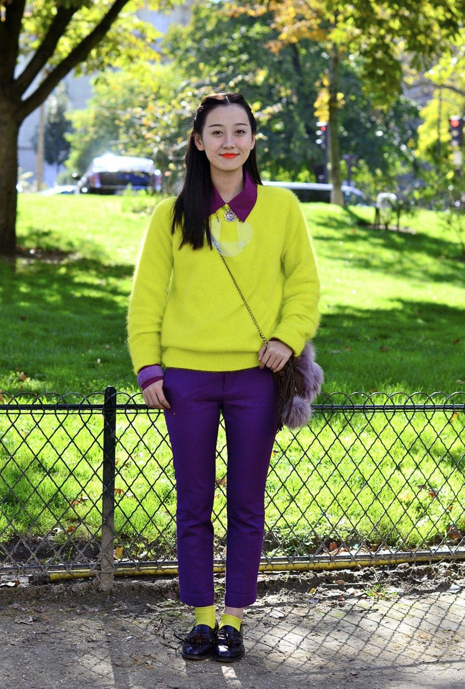 Парень в камуфляже, девушка-Микки-Маус и другие гости Paris Fashion Week. Изображение № 35.