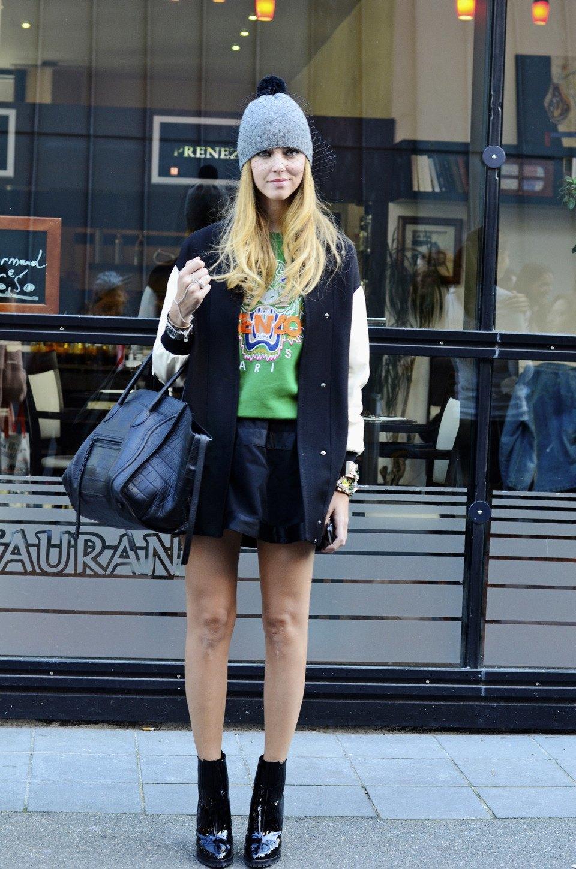 Парень в камуфляже, девушка-Микки-Маус и другие гости Paris Fashion Week. Изображение № 14.
