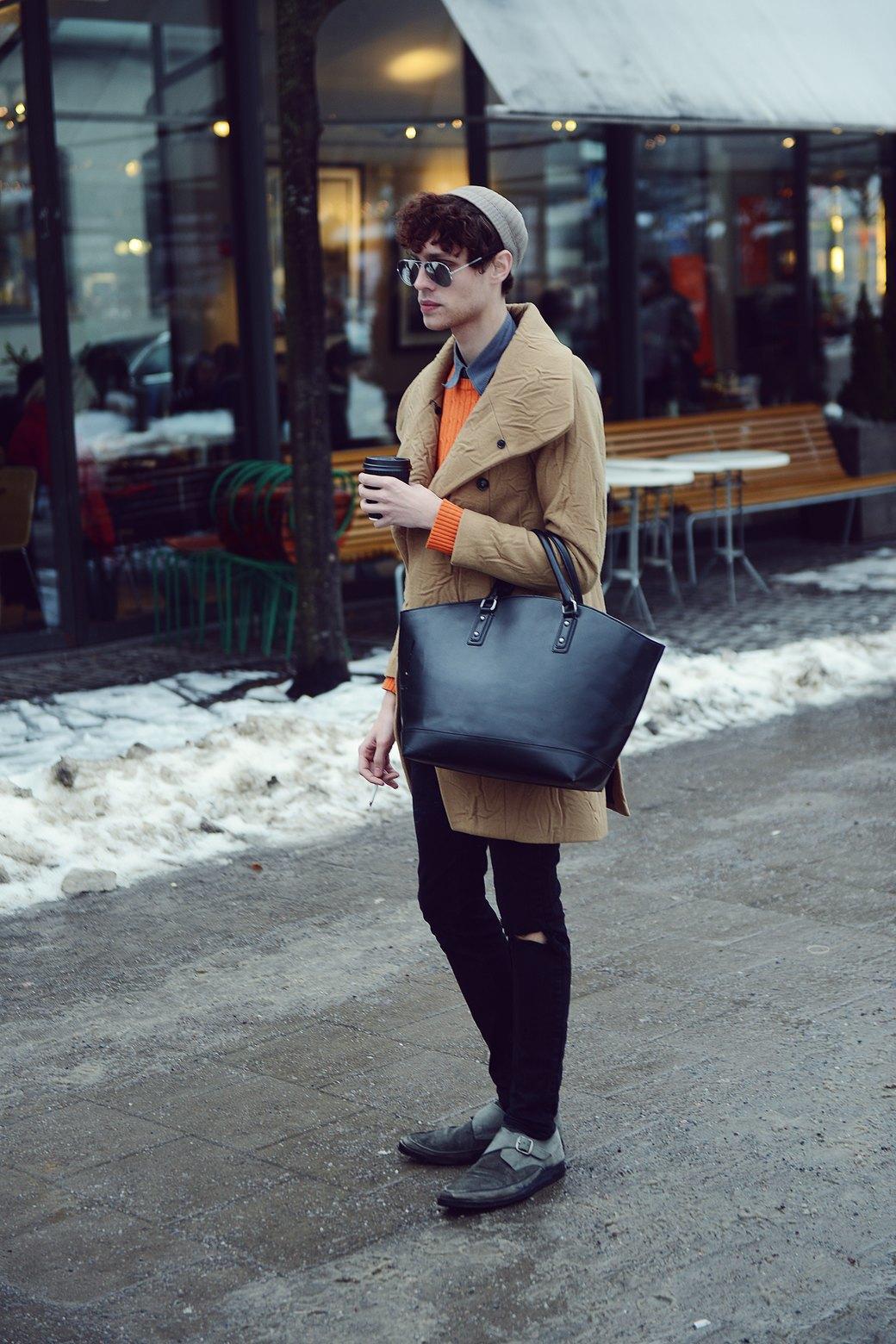 Шубы и горох на Stockholm Fashion Week. Изображение № 30.