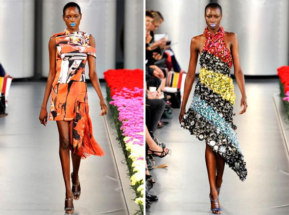 Показы на London Fashion Week SS 2012: День 5. Изображение № 1.