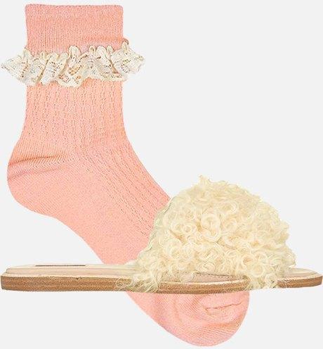 Как это носить:  Босоножки, клоги  и лодочки с носками. Изображение № 10.
