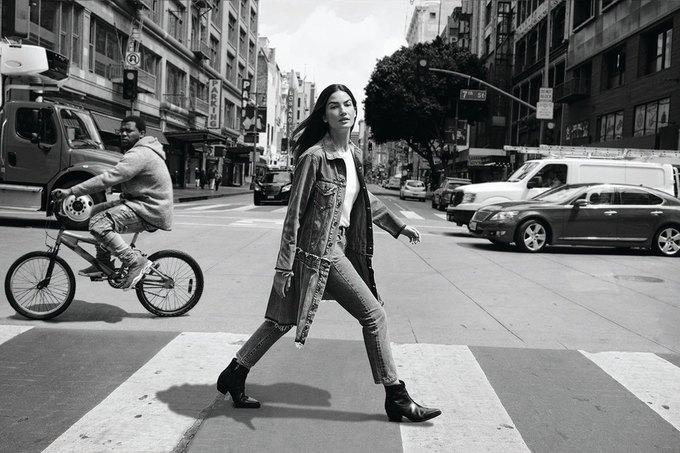 Лили Олдридж стала лицом новой кампании Levi's Made & Crafted. Изображение № 1.