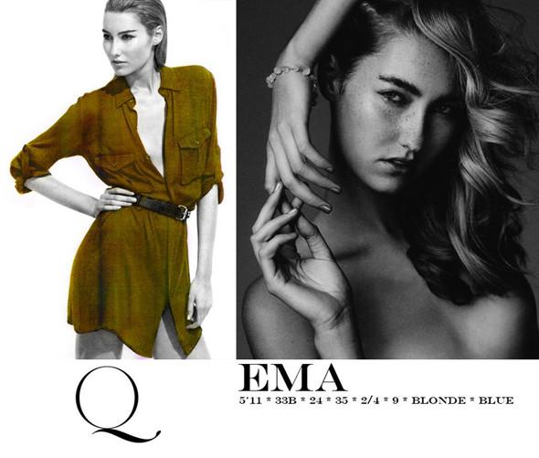 Композитки пяти модельных агентств к Нью-Йоркской неделе моды. Изображение № 14.