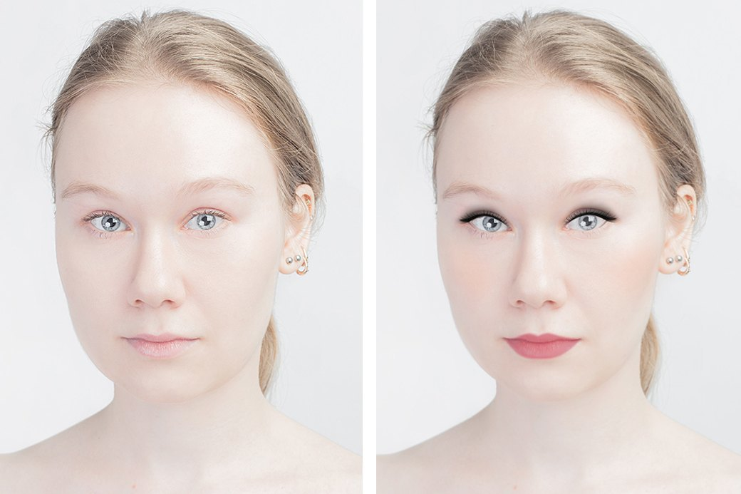 До и после макияжа:  Редакция тестирует  бьюти-приложения. Изображение № 5.