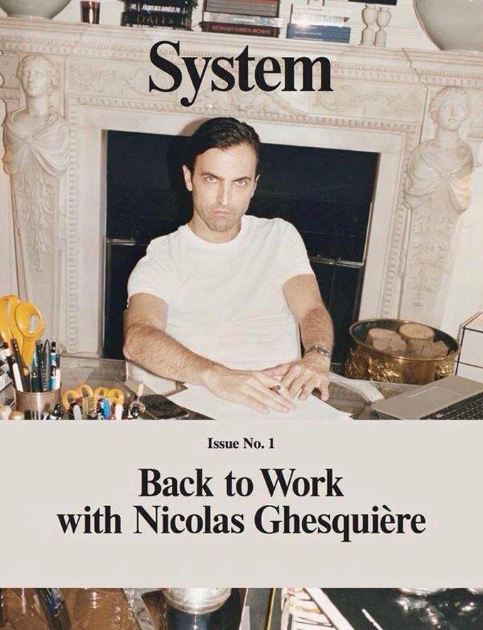 Николя Гескьер на обложке System. Изображение № 1.