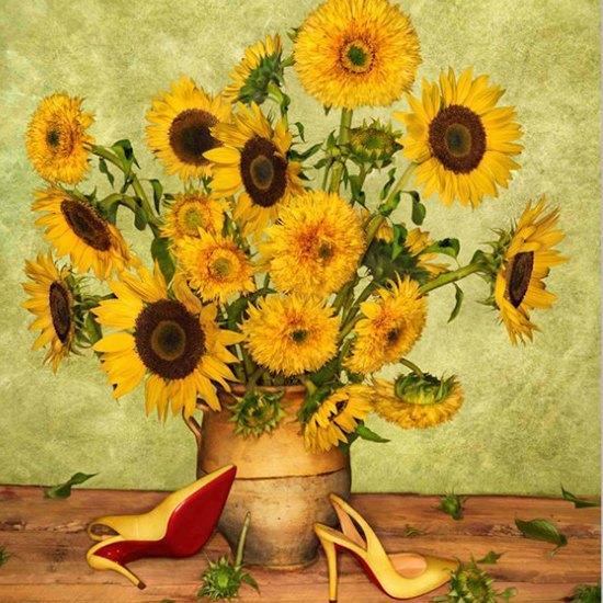 Туфли Christian Louboutin на полотнах Ван Гога, Моне и Сезанна. Изображение № 5.