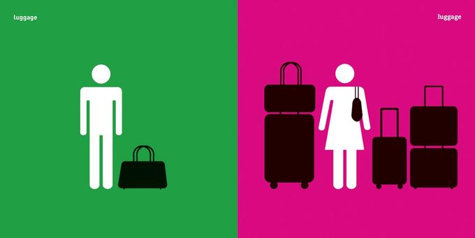 Дизайнер высмеивает гендерные стереотипы в серии иллюстраций. Изображение № 5.