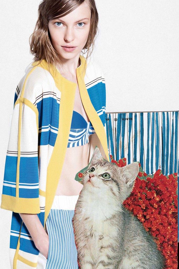 Модели и котики в круизном лукбуке Antonio Marras. Изображение № 10.