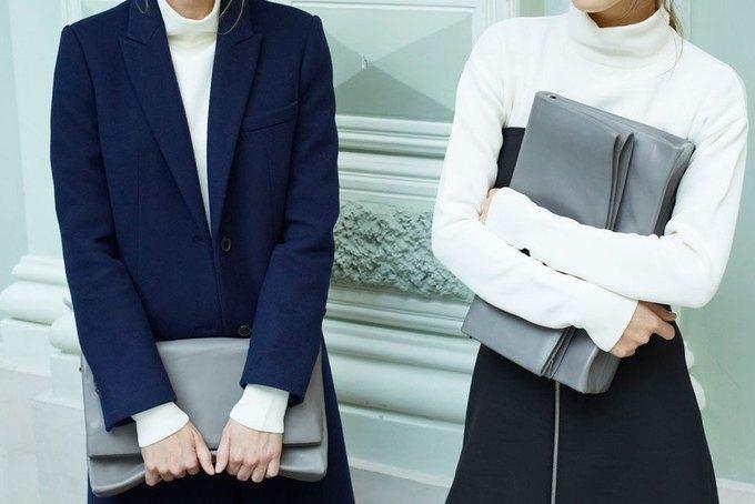 Объемные пальто и клетка в осеннем лукбуке Zara. Изображение № 2.