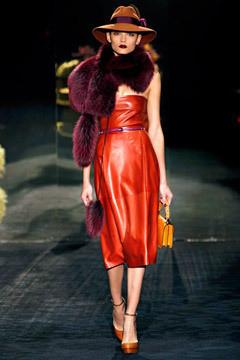 Gucci FW 2011 . Изображение № 47.