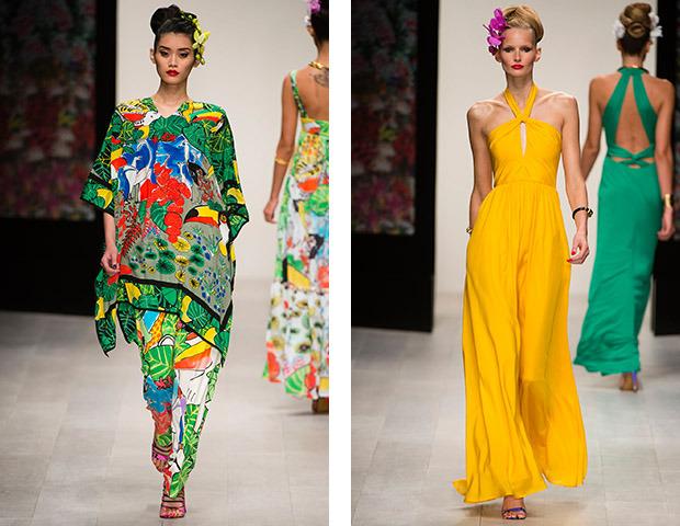 Неделя моды в Лондоне: Показы Issa, Holly Fulton, House of Holland, John Rocha и Moschino. Изображение № 2.