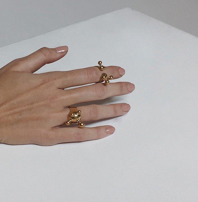 Московская марка 10.GRAN: Ювелирные украшения в виде молекул. Изображение № 2.