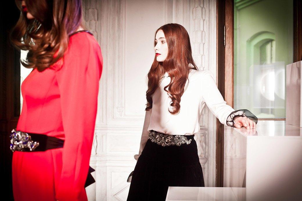 Репортаж: Бархатные платья  и светящиеся кубы на LUBLU Kira Plastinina FW 2013. Изображение № 32.