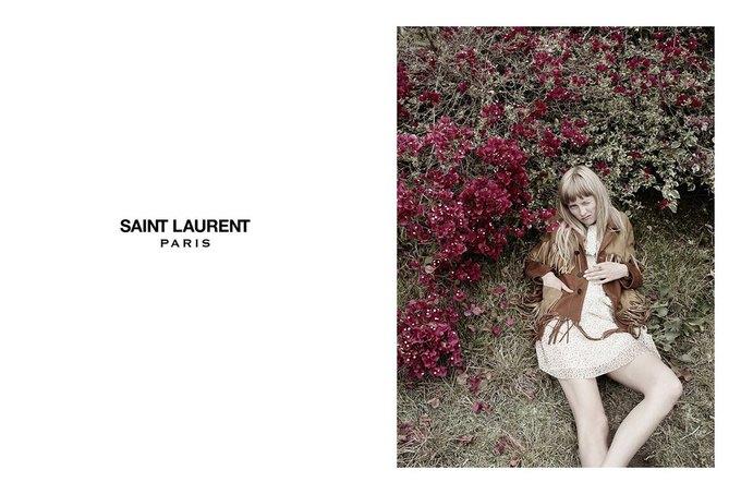 Звезда «Любви» Гаспара Ноэ и сын Килмера снялись в рекламе Saint Laurent. Изображение № 9.