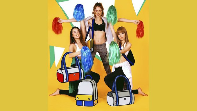Интернет покорили «нарисованные» сумки JumpFromPaper. Изображение № 3.