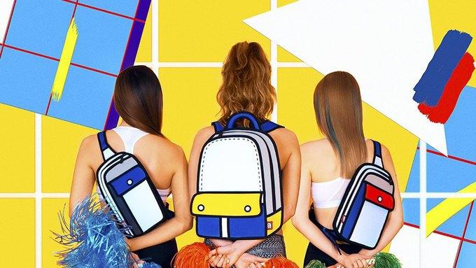 Интернет покорили «нарисованные» сумки JumpFromPaper. Изображение № 1.