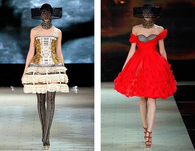 Парижская неделя моды: Показы Chanel, Valentino, Alexander McQueen и Paco Rabanne. Изображение № 24.