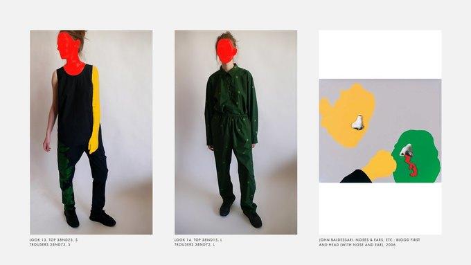 Лукбук Nina Donis, вдохновлённый полотнами Джона Балдессари. Изображение № 7.