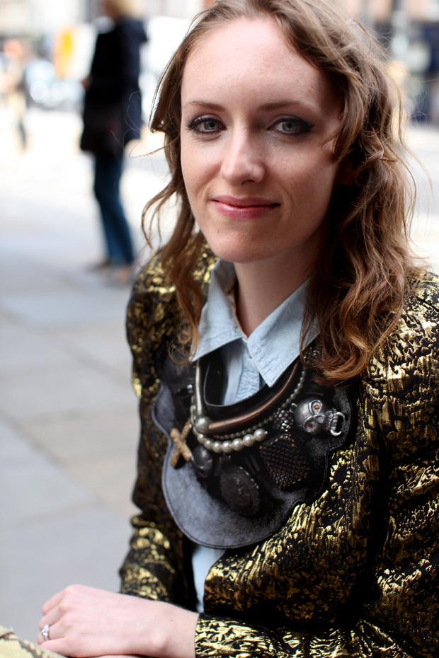 Streetstyle: Неделя моды в Лондоне, часть 1. Изображение № 25.