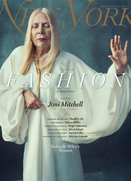 New York Magazine поставили на обложку номера Джони Митчелл. Изображение № 1.