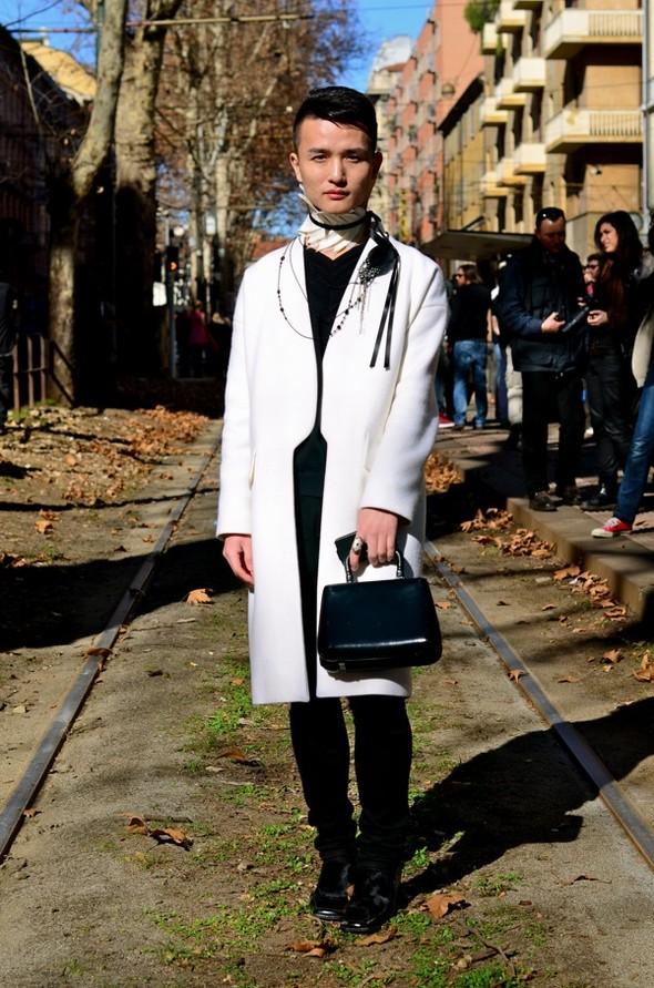 Неделя моды в Милане: Streetstyle. Изображение № 31.