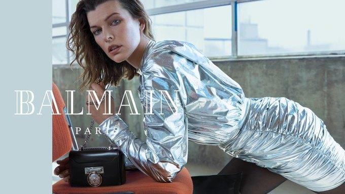 Милла Йовович стала новым лицом Balmain. Изображение № 1.