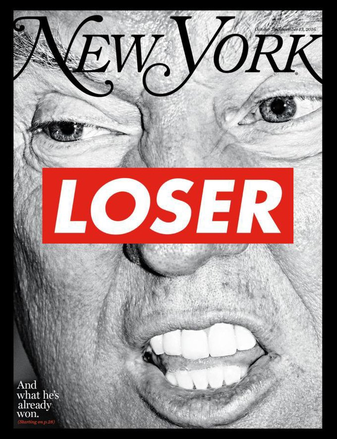 Барбара Крюгер создала обложку для спецвыпуска New York Magazine. Изображение № 1.