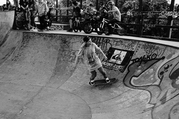 Женский пул:  Девушки на скейте. Изображение № 18.